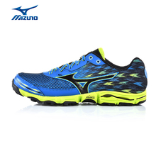 MIZUNO Men WAVE HAYATE 2 Mesh Cushioning Jogging Running Shoes Sneakers Light Footwear Breathable Sport Shoes J1GJ157209 XYP355