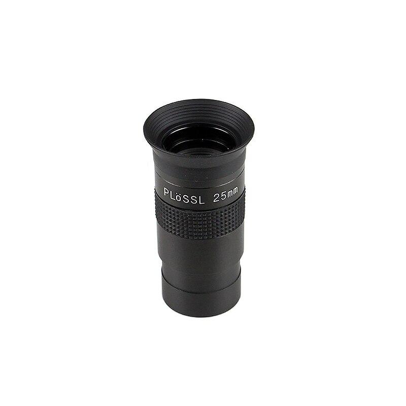 1.25inch Plossl Eyepiece Focal Distance 4mm/25mm/30mm/40mm Standard Thread FMC Optical Glass Lens for Astronomical Telescopes