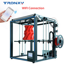 2019 Tronxy newest 3D printer X5SA  Larger print size 3.5 inch with Touch Screen and supports WIFI connection