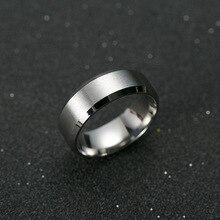 Men Titanium Black Ring