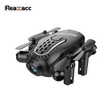 Realacc R11 Mini FPV with 5.8G Foldable 720P HD Camera 6-axis Headless Mode 3 Inch Goggles Micro RC Drone Quadcopter(China)