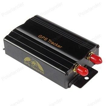 ¡Promoción! Rastreador GPS de coche sistema de GPS GSM GPRS vehículo Tracker localizador TK103B con Control remoto SD tarjeta SIM Anti-robo 2
