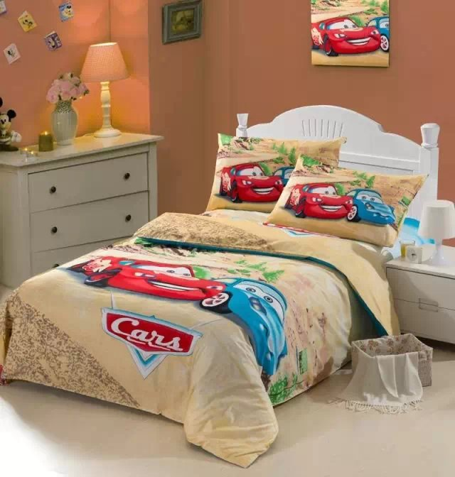 Amazing Cars Quilt Comforter Bedding Sets Single Twin Size