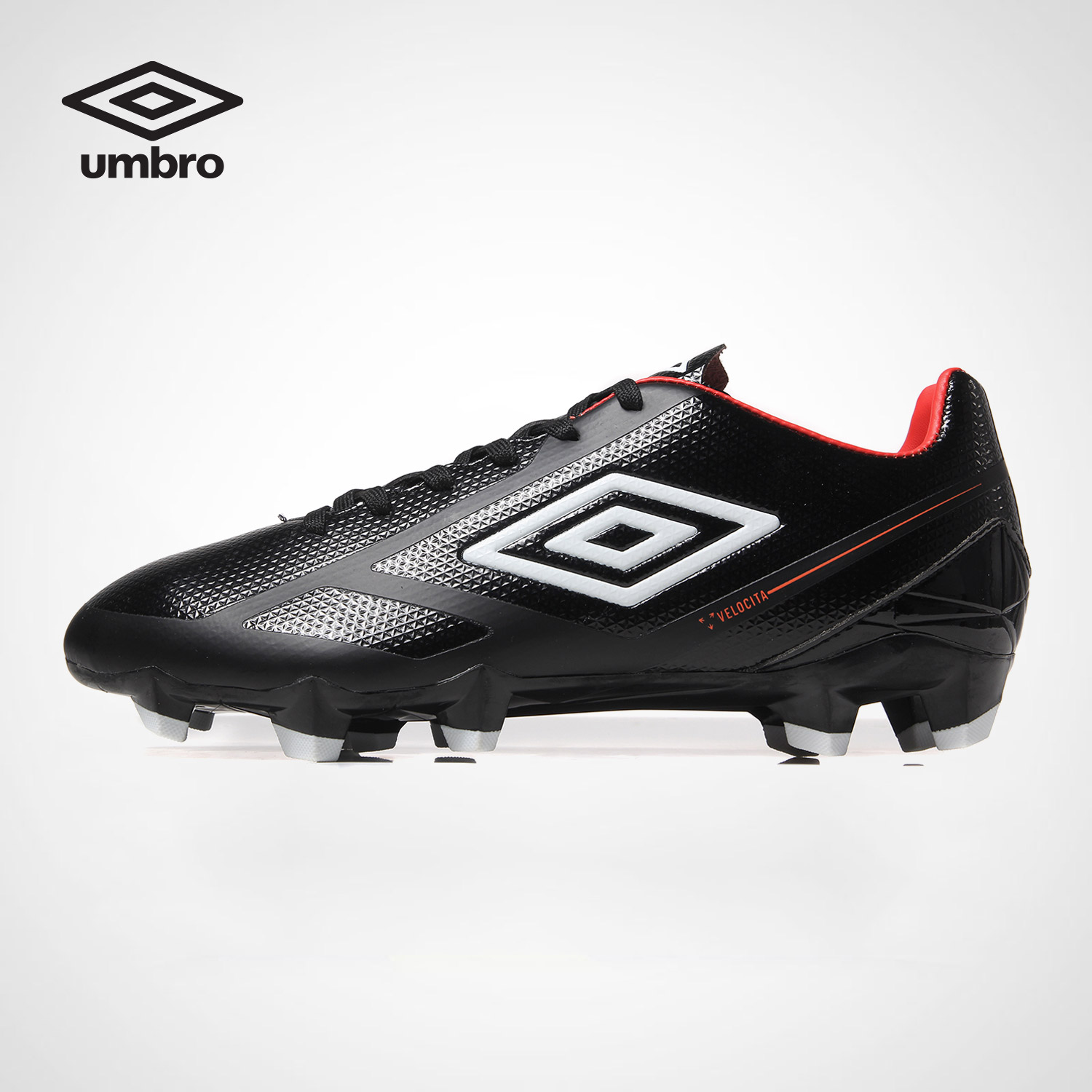Umbro Men's Football Shoes HG Hobnail Artificial Turf Student Competition Training Football Boots Soccer Shoes UCB90127 dr eagle original superfly football boots man football shoes with ankle soccer boots footbal shoes sock size 38 45 sneakers