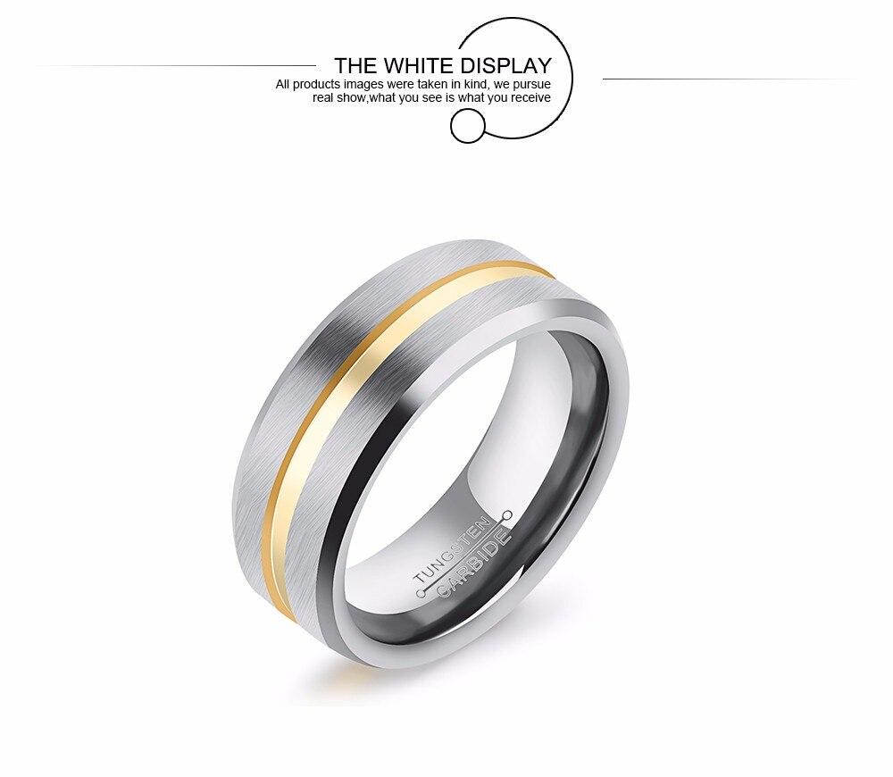 Hochzeits- & Verlobungs-schmuck Männer Ringe Frauen Titan Stahl Ring Matte Paar Ringe Engagement Finger Ring Größe 7-10 Für Party
