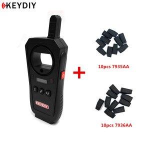 Image 2 - KEYDIY KD X2 Garage Door Remote Generater Car Key Frequency Tester 96Bit 48 Transponder Chip Copier No Token With Chips