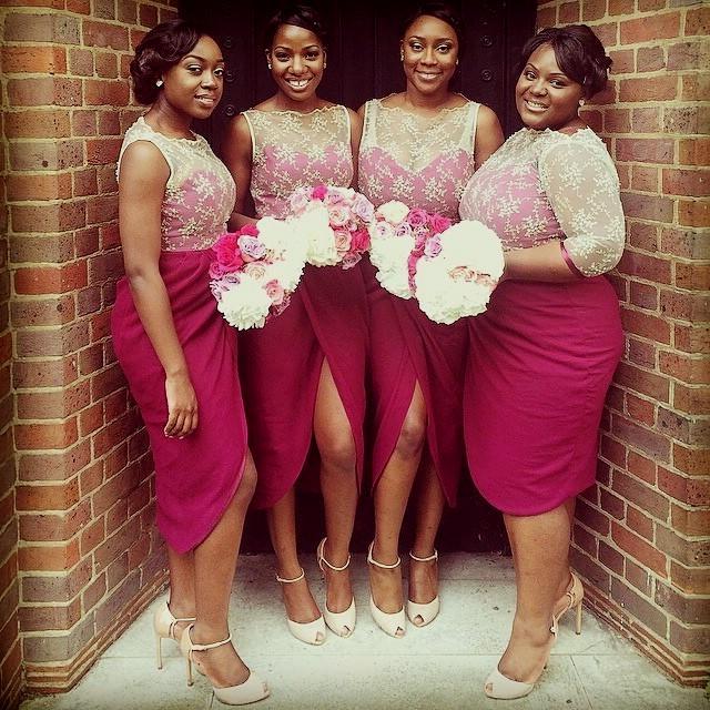 African Bridesmaid Dresses Short