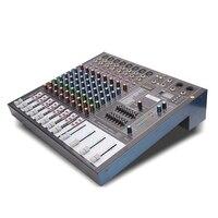 G MARK MR Series Professional Audio mixer Console HD DJ Player Independent Phantom Power 8 channels USB Bluetooth Reverb Wedding