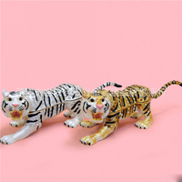 European Painting Crafts Metal Crafts Tiger Desktop Decoration Home Ornaments Gift A414