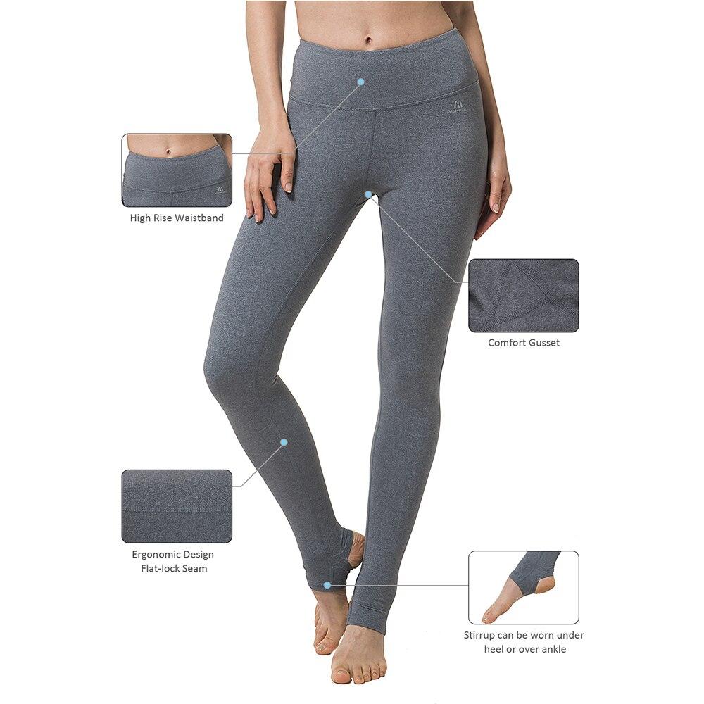 f8d9eec2ff84e7 Matymats Women's High Quality Yoga Pants Workout Stirrup Leggings Pants  Tights Anti pilling Fitness Women Leggings-in Yoga Pants from Sports &  Entertainment ...