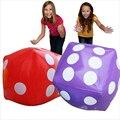 30 CM De Puntos Dados Dados Inflables Cubos Suave Juguete de Los Niños de artículos para Fiestas Favores Promocional-sitio Apoyos Inflable Volar juguetes