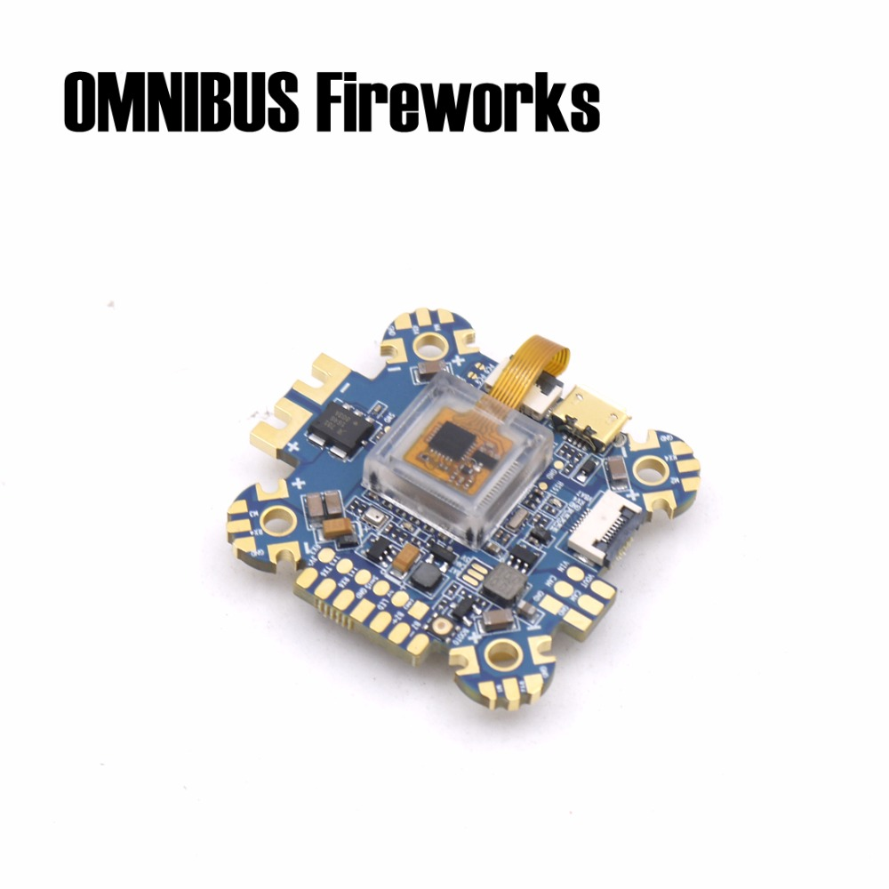 OMNIBUS Fireworks flight controller uses the ICM20608 over SPI For RC FPV Racing Cross Drone Quadcopter