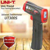 UNI-T thermomètre infrarouge portatif UT300S, mini thermomètre sans contact, portée-32 C-400 C