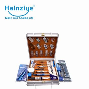 Halnziye thermal interface materials(thermal paste,thermal glue,thermal pad) samples gift box package