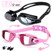 -7.0 Pink and Black