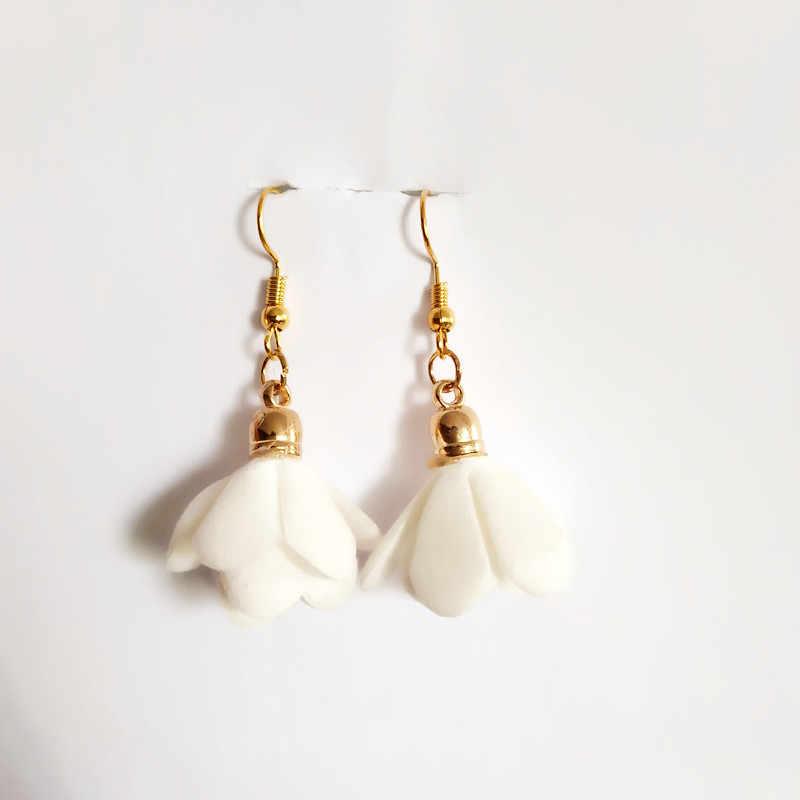 Золотые серьги-гвоздики из нержавеющей стали для женщин, ювелирные изделия в стиле минимализма, аксессуары, подарки