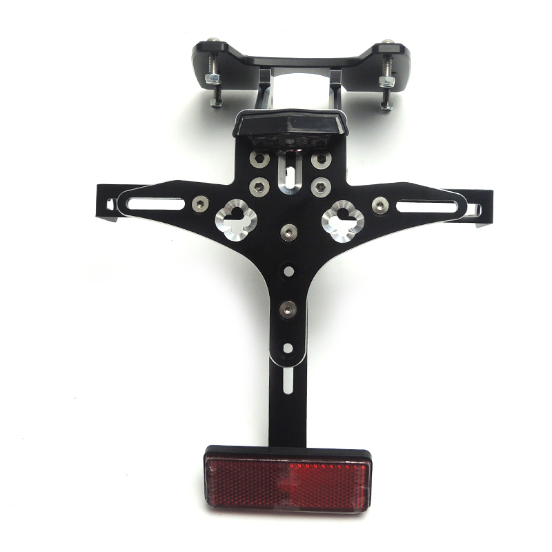 For SUZUKI GSX-R600 K6 2006 2007 Fender Eliminator Tail Tidy Holder Motorcycle License Plate Bracket For SUZUKI GSXR750 K6 for suzuki gsx r600 k8 fender eliminator motorcycle license plate bracket for gsxr750 k8 tail tidy tag rear 2008 2009 2010