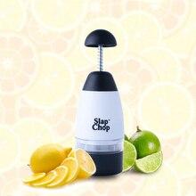 Creativa Cebolla Trituradora Triturador de Ajo Slap Chop Food Chopper Rallador Cortador de Frutas Vegetales Herramientas