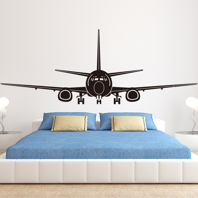 Airplane Wall Decor airplane wall stickers mural wall decor airplane wall art decal