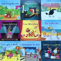 Grappig Educatief Kinderen Engels Studie Taal Learing Boeken gld2 usborn Klanken Lezers Kleur Verhaal Boeken 11 stuks set