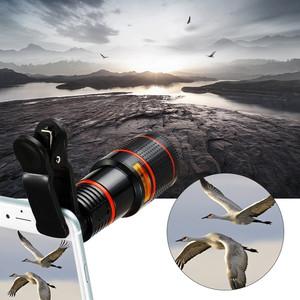 Image 3 - Telefon fotoğraf teleskop 8X kez telefoto HD telefon mercek için evrensel lens iphone X 8 7 6 s xiaomi HUAWEI samsung akıllı telefon