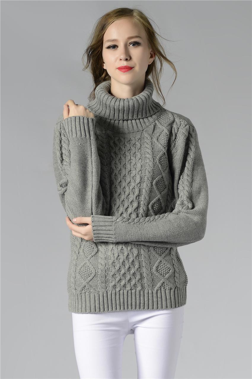HTB1C5cXSpXXXXcrXVXXq6xXFXXXX - FREE SHIPPING ! Sweater Long Sleeve Turtleneck JKP196