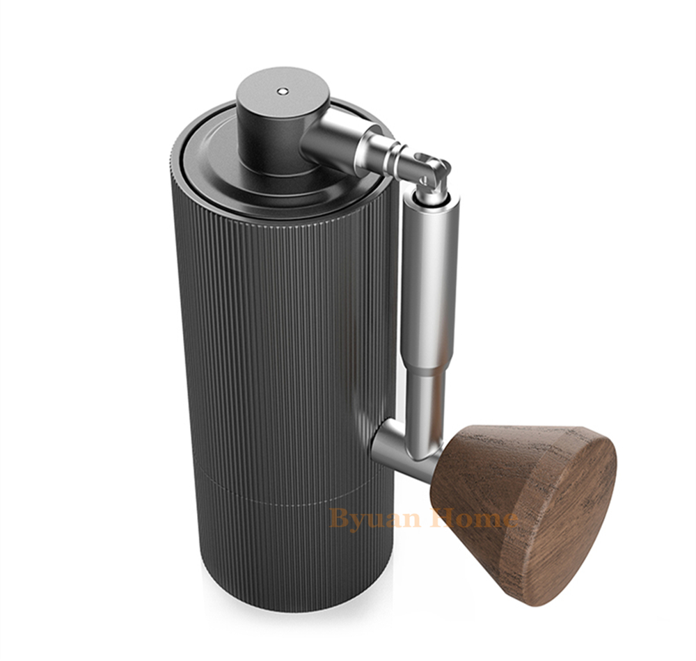 New foldable MYY48 Aluminum portable coffee grinder steel grinding core design super manual coffee mill Dulex
