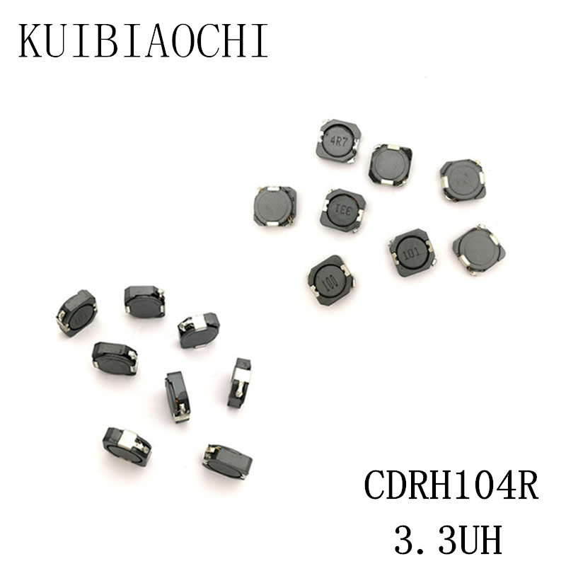 10pcs CD127 100uH 101 Shielded Inductor SMD Power Inductors 12x12x7mm