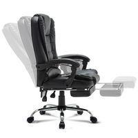 Luxury Quality Nh 333 Gaming Boss Chair Ergonomics Wheel With Footrest Synthetic Leather Massage Steel feet office furniture