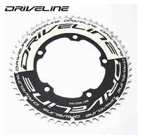 DRIVELINE CNC 50/53/55/56/58T road bike TT chainring 9/10/11S 130BCD