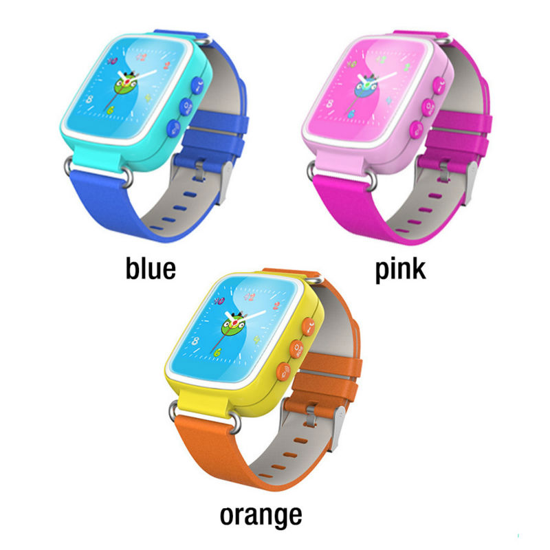Kid GPS Smart Watch SOS llamada localizador de localización localizador de dispositivo Tracker para Kid Safe anti lost Monitores regalo q60 PK q50 q80