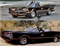 JADA 1:24 Gelişmiş alaşım araba oyuncak, yüksek taklit Batman spor araba modeli, 2 kapıyı açmak, koleksiyon araba modeli, ücretsiz kargo