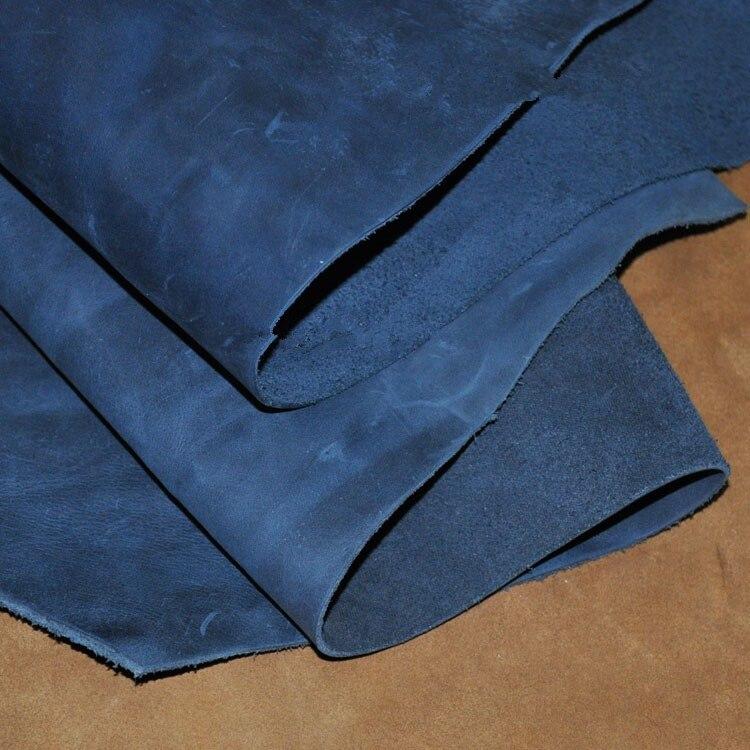 Ручной DIY кожи головы слой кожа вся кожа Материал Crazy Horse шлифовальные 50*50 см ...