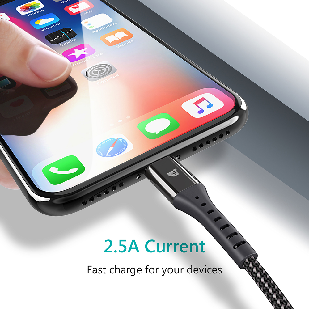 Image 3 - TIEGEM USB Cable For iPhone X XS MAX XR 8 7 6 5 S plus Cable Fast Charging Cable Mobile Phone Charger Cord Usb Data Cable 2M 3M-in Mobile Phone Cables from Cellphones & Telecommunications