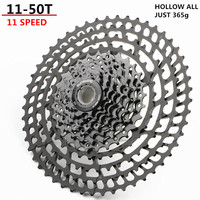 SUNSHNE MTB 11 Speed 11 50T Cassette 365g Ultralight Bicycle Freewheel 11t Bicycle Parts Mountain For Shimano M9000 M8000 M7000