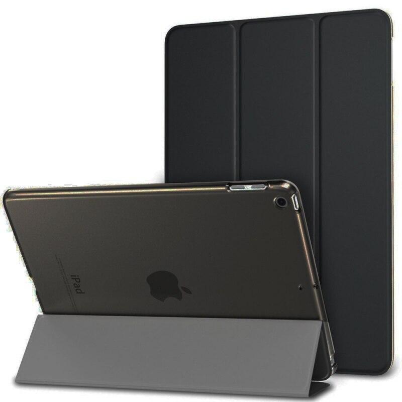 Étui pour iPad 2 3 4 A1460 étui en Silicone souple support de Folio arrière avec sommeil automatique/réveil couverture intelligente en cuir d'unité centrale pour iPad 3 4 2 étui