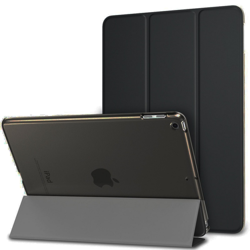 Case For IPad 2 3 4 A1460 Case Silicone Soft Back Folio Stand With Auto Sleep/Wake Up PU Leather Smart Cover For IPad 3 4 2 Case