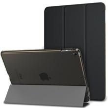 Case for iPad Mini 5 A2133 A2124 A2125 PU Leather Soft Back Trifold Stand Sleep Smart Cover 2019 Funda