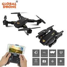 Drone DRONE Autofoto Plegable MUNDIAL Wifi Control Del Teléfono HD FPV Cámara de Bolsillo Mini RC Quadcopter Drone RC de Juguete de Control Remoto