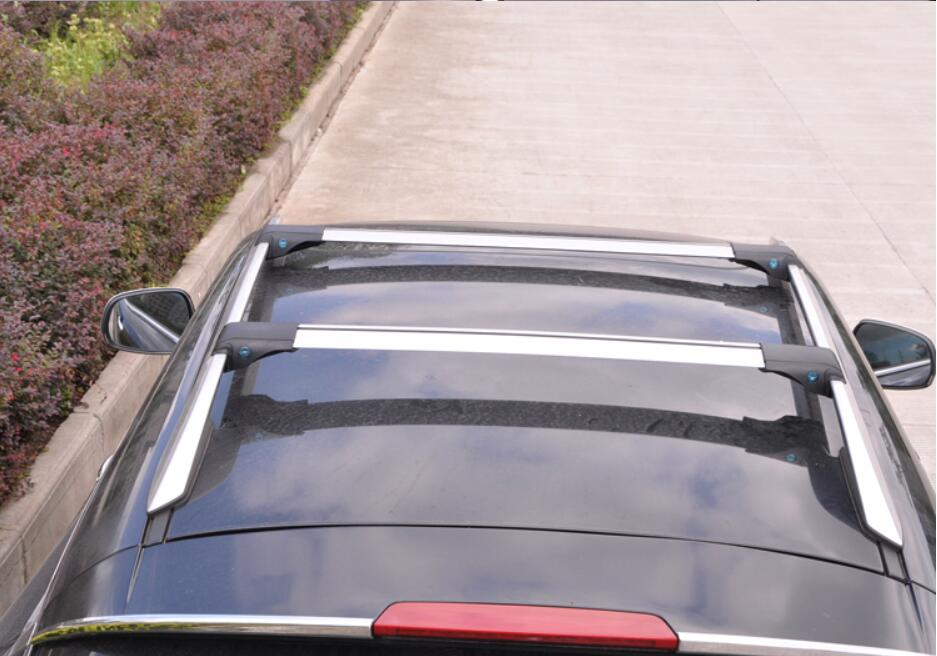 JIOYNG Car Roof Rack Cross Bars Roof Rails Racks bar Auto Load Cargo Luggage Carrier Baggage FOR SUV General purpose