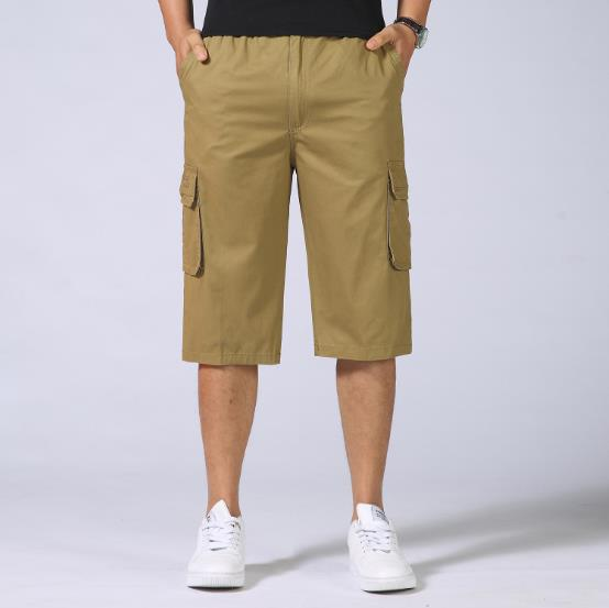 New Summer Men's Army Cargo Shorts Work Casual Bermuda Men Shorts Fashion Overall military Trousers Plus Size 5XL 6XL