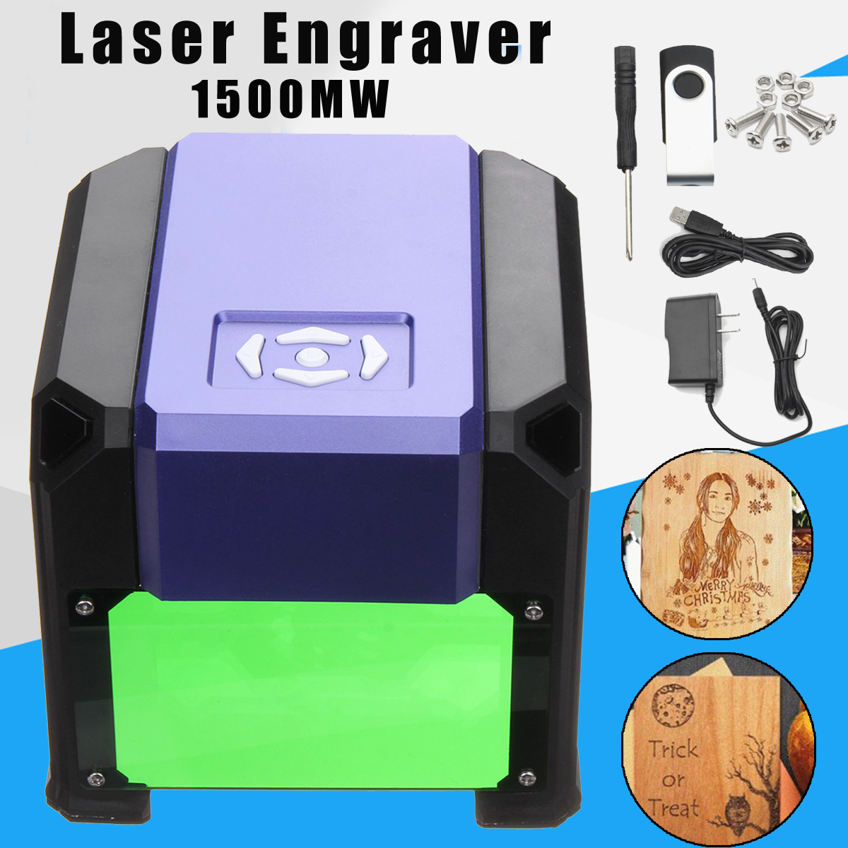 1500mW 80x80mm USB Desktop Mini Laser Engraver Machine Printer DIY Logo Marking Cutter Engraving Range CNC Laser Carving For WIN the anna karenina fix