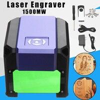 1500mW 80x80mm USB Desktop Mini Laser Engraver Machine Printer DIY Logo Marking Cutter Engraving Range CNC Laser Carving For WIN