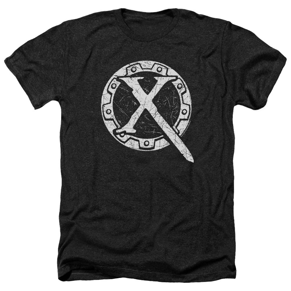 Xena Warrior Princess TV Series Distressed Logo Adult Heather T-Shirt Tee 100% Cotton T Shirts Brand Clothing Tops Tees