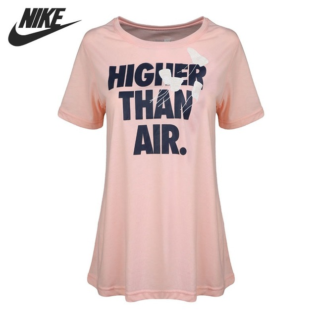 fee8307d17ad Original New Arrival 2018 NIKE HIGHER THAN AIR Women s T-shirts short  sleeve Sportswear