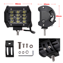 ECAHAYAKU 1x 3rows  4inch 12V Car Led Work Light Bar 36W 6000K IP68 Driving Beam fog Light for Offroad 4x4 SUV ATV Trailer Truck syma x5uw drone with wifi camera hd fpv real time transmission 2 4g 4ch 6aixs rc helicopter dron helicopter altitude hold drone