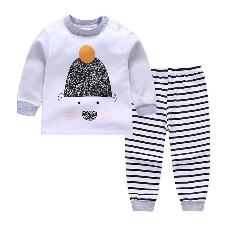 2018 autumn soft cotton newborn baby clothes long sleeve