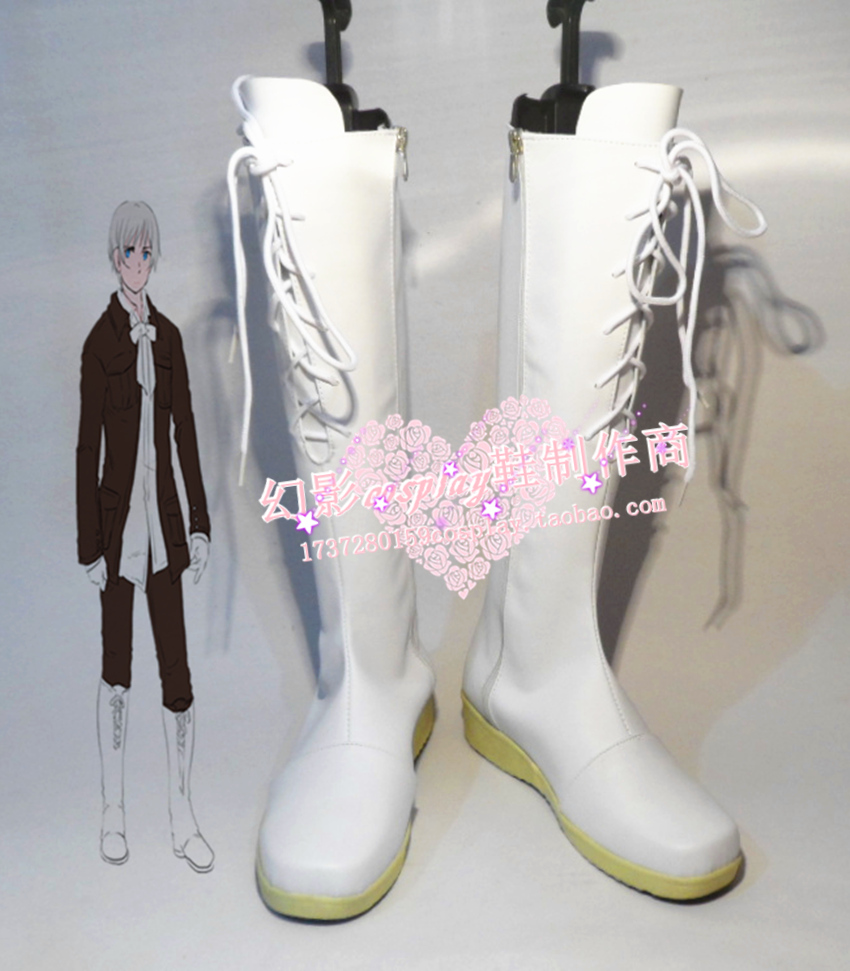 APH Axis Powers Hetalia Iceland Cosplay Shoes Boots Custom-Made 614