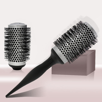 Detachable Barrels Round Brushes Hair Rollers Hair Combs Clips Professional Salon Styling Brush