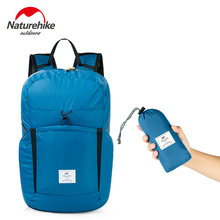 NatureHike 25L Cordura Kain 30D Nilon Lari Olahraga Ringan Lipat Tas Pack Ransel Fashion(China)
